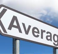 You're not average